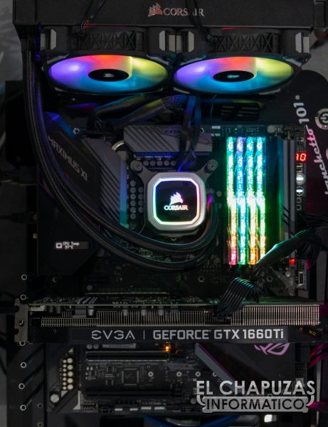 EVGA GeForce GTX 1660 Ti XC Ultra Equipo de Pruebas 1