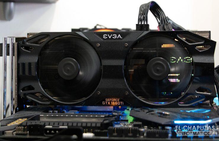 EVGA GeForce GTX 1660 Ti XC Ultra Equipo de Pruebas 3
