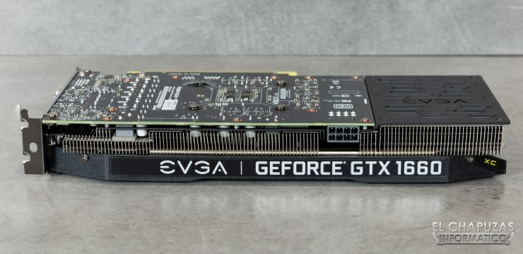 EVGA GeForce GTX 1660 XC Ultra - Vista Lateral