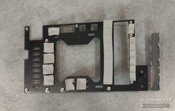 EVGA GeForce GTX 1660 XC Ultra - Frontplate Desmontado