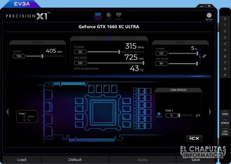 EVGA GeForce GTX 1660 XC Ultra 17 740x526 50