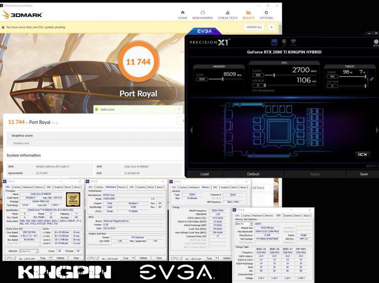 EVGA GeForce RTX 2080 Ti Kingping Hybrid