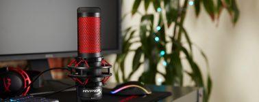 HyperX QuadCast, micrófono de calidad de estudio para Streamers y Casters