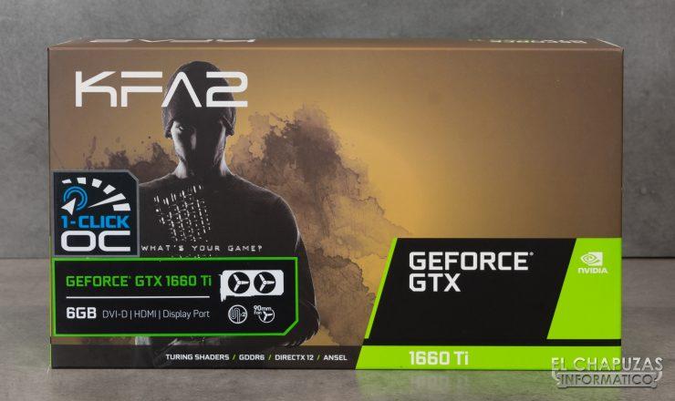 KFA2 GeForce GTX 1660 Ti 1-Click OC - Embalaje 1