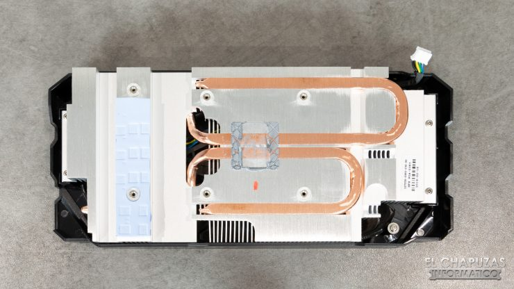 KFA2 GeForce GTX 1660 Ti 1-Click OC - Disipador Desmontado