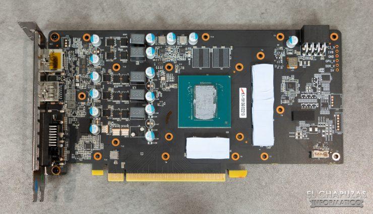 KFA2 GeForce GTX 1660 Ti 1-Click OC - PCB