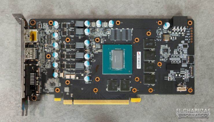 KFA2 GeForce GTX 1660 Ti 1-Click OC - PCB y Núcleo
