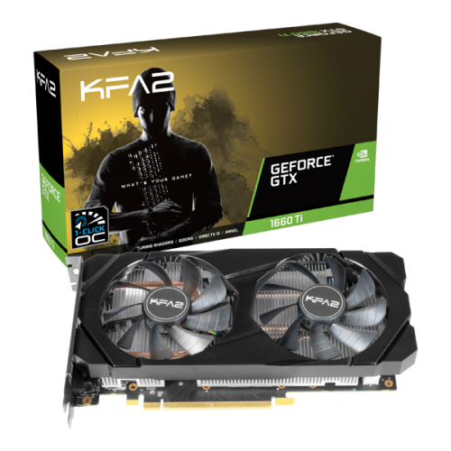 KFA2 GeForce GTX 1660 Ti 1-Click OC - Oficial