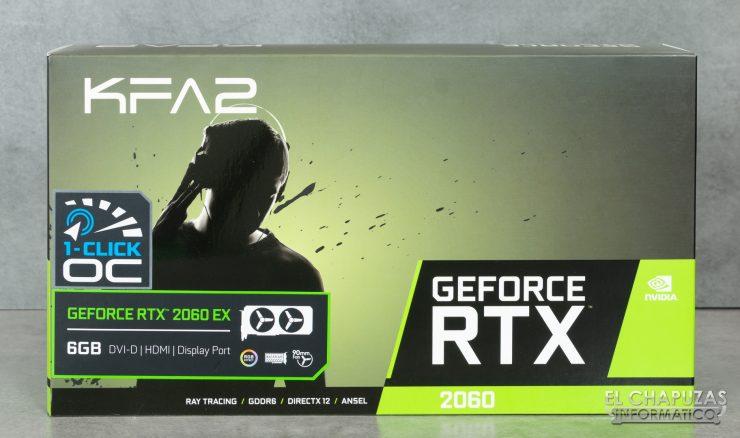 KFA2 GeForce RTX 2060 EX - Embalaje 1