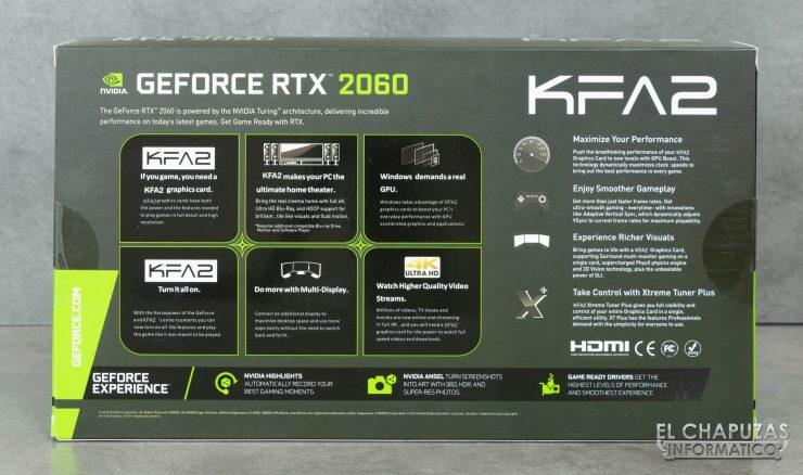 KFA2 GeForce RTX 2060 EX - Embalaje 2