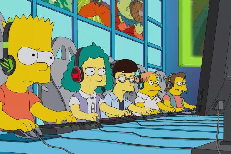 Los Simpsons League of Legends