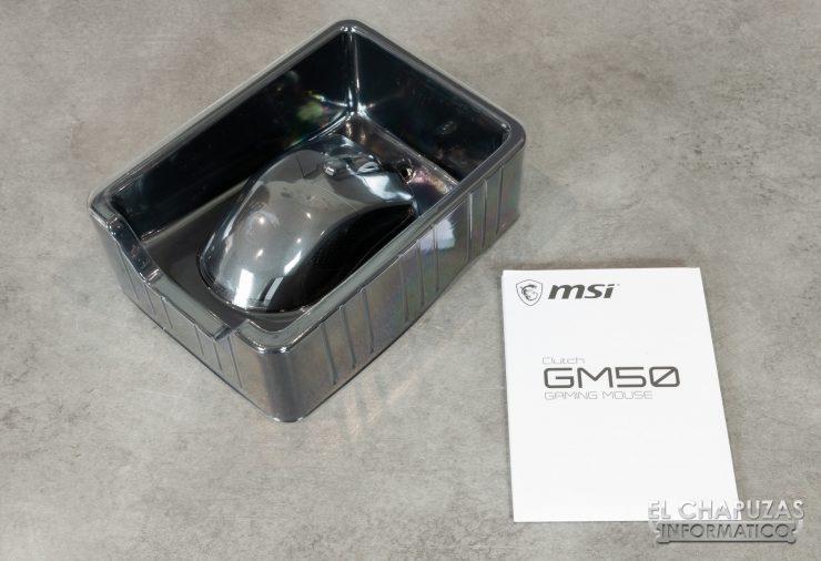 MSI Clutch GM50 Embalaje 4