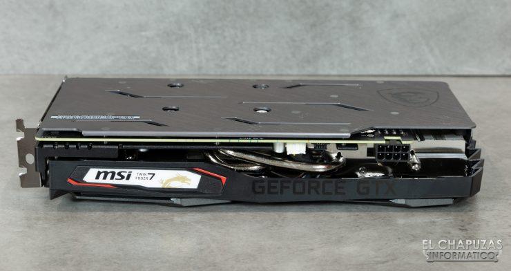 MSI GeForce GTX 1660 Gaming X - Vista Lateral