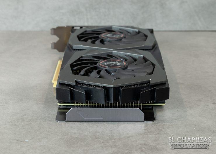 MSI GeForce GTX 1660 Gaming X - Vista Trasera