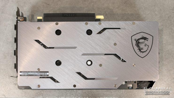 MSI GeForce GTX 1660 Gaming X - Vista Inferior