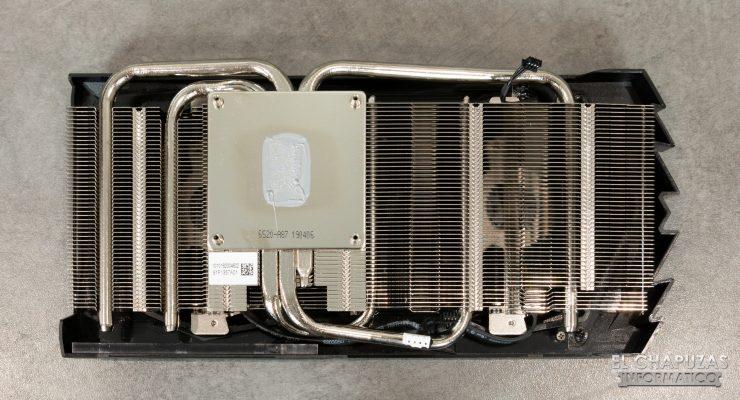 MSI GeForce GTX 1660 Gaming X - Disipador Desmontado