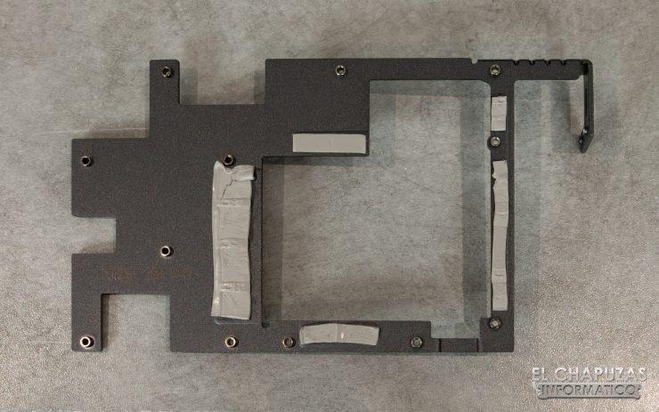 MSI GeForce GTX 1660 Gaming X - Frontplate Desmontado