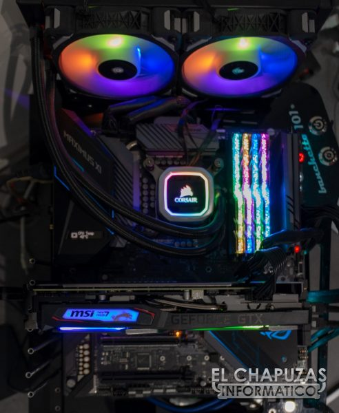 MSI GeForce GTX 1660 Gaming X - Equipo de Pruebas 1