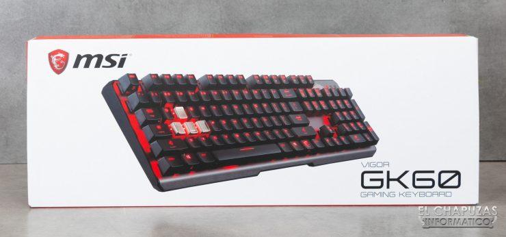 MSI Vigor GK60 Embalaje 1