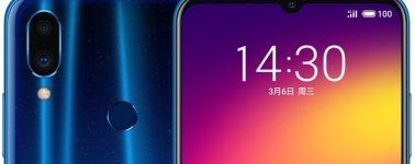 Meizu Note 9: 6.2″, Snapdragon 675, 4000 mAh y 48 + 5 megapíxeles