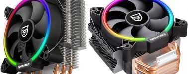 Nfortec Centaurus: Disipador CPU por aire bueno, bonito, barato y con ARGB