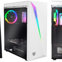 Nfortec Lynx: Vidrio templado e iluminación RGB por 39.90 euros