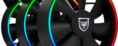 Nfortec Oberon: Ventiladores ARGB con alto caudal de aire para los chasis