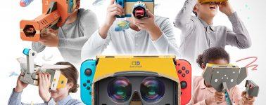 Las gafas VR llegan a la Nintendo Switch con las Nintendo Labo: VR Kit
