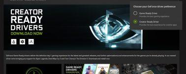 Nvidia lanza los controladores GeForce 419.67 Creator para sus GPUs de consumo