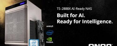 QNAP TS-2888X: Un NAS diseñado para la Inteligencia Artificial y Aprendizaje Automático