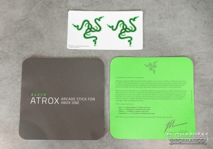 Razer Atrox Documentación