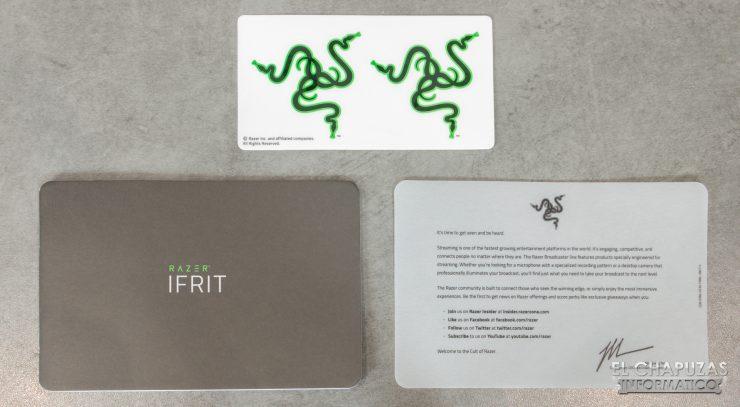 Razer Ifrit - Accesorios 1