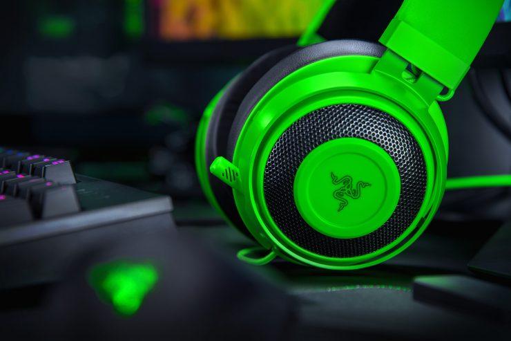 Razer Kraken verde 740x493 0