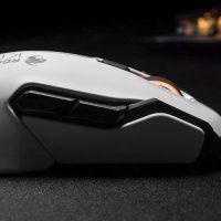 Roccat Kova AIMO: Ratón gaming con diseño ambidiestro, iluminación RGB y 7000 DPI
