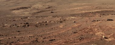 Esta es la última fotografía que el rover Opportunity envió antes de morir
