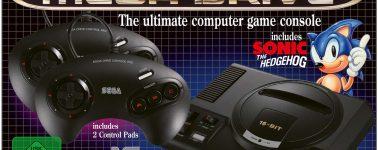 La SEGA Mega Drive Mini se retrasa en Europa, llegará finalmente en Octubre