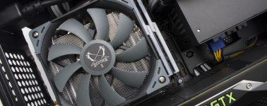 Scythe Big Shuriken 3: Disipador CPU de alto rendimiento para equipos compactos
