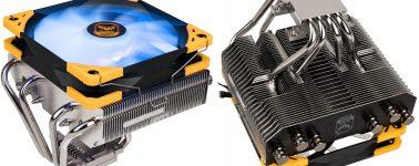 Scythe Choten TUF Gaming Alliance: Disipador RGB para equipos compactos