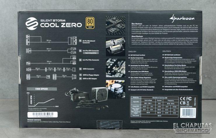 Sharkoon SilentStorm Cool Zero - Embalaje 2