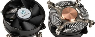 SilverStone Nitrogon NT08-115X-V2: Disipador básico para equipos compactos