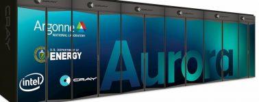 Intel sigue los pasos de AMD y Perlmutter creando a Aurora, su primer superordenador a exaescala