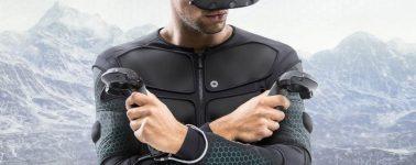 Teslasuit, un traje completo diseñado para la Realidad Virtual con respuesta háptica