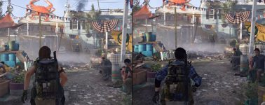 The Division 2 en PC vs Xbox One X vs PlayStation 4