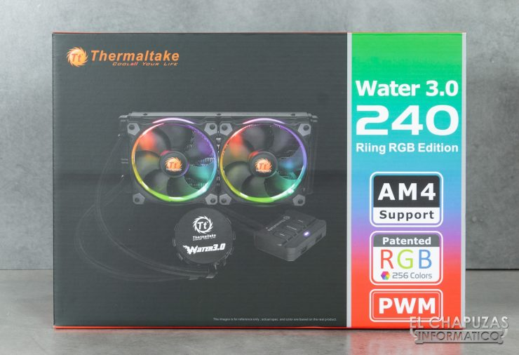 Thermaltake Water 3.0 240 Riing RGB Edition Embalaje 1