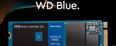 WD Blue SN500: SSDs NVMe de gama media a un precio rompedor