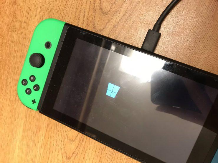 Nintendo Switch con Windows 10