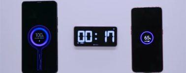 Xiaomi muestra su tecnología de carga Super Charge Turbo con una potencia de salida de 100W
