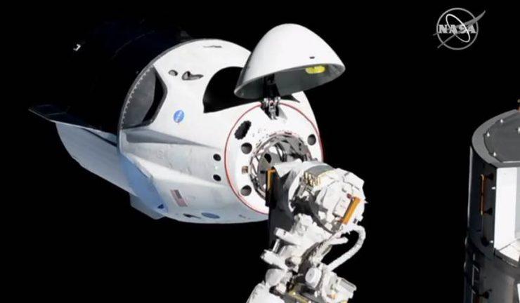 Estación Espacial Internacional Crew Dragon SpaceX
