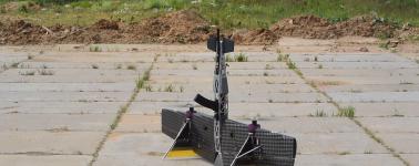 Así es el nuevo drone militar de Rusia diseñado para derribar cualquier drone enemigo