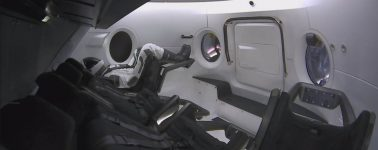 SpaceX lanza con éxito su cápsula tripulada Crew Dragon